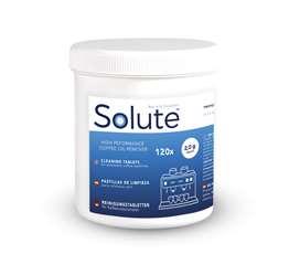 Solute reinigingstabletten 2,0 gr Ø15 mm [pot 120 x 12 st]