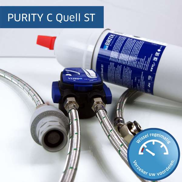 Brita Purity C Quell ST compleet waterfiltersysteem